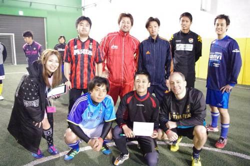 ④チーム集合写真