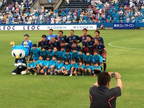 横浜FCクラブメンバーズデイ0629:試合前