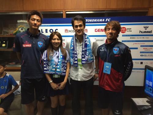 横浜FCクラブメンバーズデイ0629:選手と