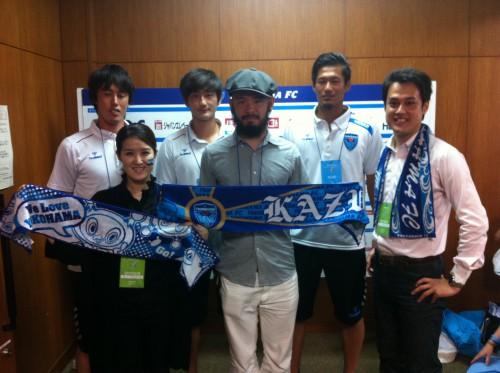 横浜FCクラブメンバーズDAY:選手と